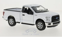 Modellauto - <strong>Ford</strong> F-150, weiss, 2015<br /><br />Welly, 1:24<br />Nr. 214950