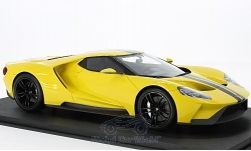 Modellauto - <strong>Ford</strong> GT, gelb/schwarz, Los Angeles Auto Show, 2015<br /><br />Top Speed, 1:18<br />Nr. 214970