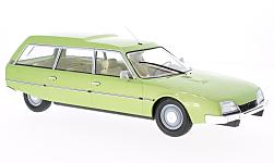 Modelo de coche - <strong>Citroen</strong> CX 2400 súper Break series I, metallic-verde, 1976<br /><br />MCG, 1:18<br />Nº 214985