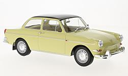 Modellauto - <strong>VW</strong> 1500 S (Typ 3), beige/schwarz, 1963<br /><br />MCG, 1:18<br />Nr. 215044