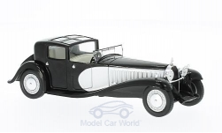 Modellauto - <strong>Bugatti</strong> Type 41 Royale, schwarz/silber, 1928<br /><br />WhiteBox, 1:43<br />Nr. 215112