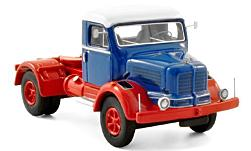 Modelcar - <strong>Krupp</strong> tiger, dark blue/white, 1954<br /><br />BoS-Models, 1:87<br />No. 215119