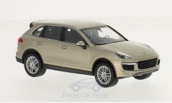 Modellauto - <strong>Porsche</strong> Cayenne Turbo, metallic-beige, 2014<br /><br />I-Minichamps, 1:43<br />Nr. 215408