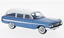 Modelcar - <strong>Chevrolet</strong> Nomad Station Wagon, metallic-blue/white, 1961<br /><br />Neo, 1:43<br />No. 215507