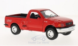 Modellauto - <strong>Ford</strong> F-150 Styleside, rot, 1999<br /><br />Welly, 1:24<br />Nr. 215737