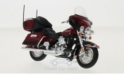 Modellauto - <strong>Harley Davidson</strong> FLHTK Electra Glide Ultra Limited, dunkelrot, 2013<br /><br />Maisto, 1:18<br />Nr. 215920