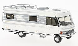 ModelCar - <strong>Hymer</strong> Type 650, weiss/grau, 1985<br /><br />IXO, 1:43<br />Nr. 215986