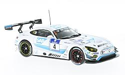Modelo de coche - <strong>Mercedes</strong> AMG GT3, No.4, AMG-equibo Black Falcon, 24h Nuerburgring, B.Schneider/M.Engel/A.Christodolou/M.Metzger, 2016<br /><br />IXO, 1:43<br />Nº 215991