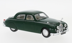 Modelcar - <strong>Jaguar</strong> MK I, dark green, RHD, 1957<br /><br />IXO, 1:43<br />No. 215994