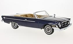 Modellauto - <strong>Chrysler</strong> 300H Convertible, metallic-dunkelblau, 1962<br /><br />BoS-Models, 1:18<br />Nr. 216272