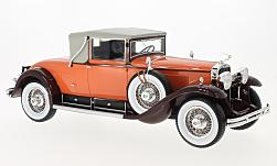 Modellauto - <strong>Cadillac</strong> 341 B Convertible Coupe, orange/braun, 1929<br /><br />BoS-Models, 1:18<br />Nr. 216481