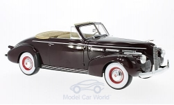 Modellauto - <strong>LaSalle</strong> Serie 50 Converteerbaar Coupe, purper, 1940<br /><br />BoS-Models, 1:18<br />Nr. 216482