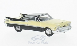 Modellauto - <strong>Dodge</strong> Custom Royal Lancer Coupe, beige/schwarz, 1959<br /><br />BoS-Models, 1:87<br />Nr. 216488