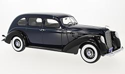 Modelcar - <strong>Lincoln</strong> V-12 Model K Limousine, dark blue/black, 1937<br /><br />BoS-Models, 1:18<br />No. 216812
