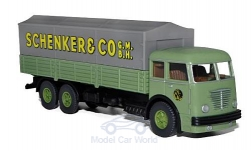 Modellauto - <strong>Büssing</strong> 12000, Schenker, Serie 800<br /><br />Wiking / PMS, 1:87<br />Nr. 216862