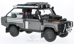 ModelCar - <strong>Land Rover</strong> Defender, metallic-dunkelgrau, RHD, Movie Edition<br /><br />Kyosho, 1:18<br />No. 217016