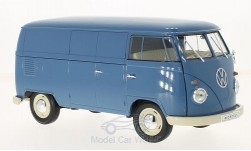 Modelcar - <strong>VW</strong> T1, blue, box wagon, 1963<br /><br />Welly, 1:18<br />No. 217064