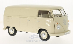 Modelcar - <strong>VW</strong> T1, light beige, box wagon, 1963<br /><br />Welly, 1:18<br />No. 217065