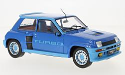 Modellino - <strong>Renault</strong> 5 turbo 1, metallic-blu, 1981<br /><br />IXO, 1:18<br />n. 217336
