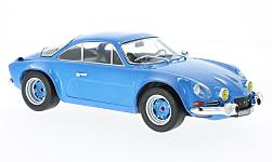 Modellauto - <strong>Alpine Renault</strong> A 110, blau, 1973<br /><br />IXO, 1:18<br />Nr. 217383