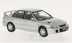 Modelcar - <strong>Mitsubishi</strong> Lancer Evo 1, silver, 1992<br /><br />GTI Collection, 1:43<br />No. 217477