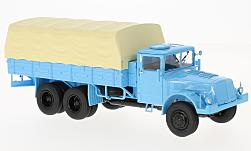 Modelcar - <strong>Tatra</strong> 111, light blue, flatbed platform trailer/cover<br /><br />Premium ClassiXXs, 1:43<br />No. 217599