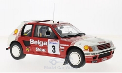 Modellauto - <strong>Peugeot</strong> 205 T16 Gruppe B, No.3, Belga, Rallye Ypres, B.Darniche/A.Mahe, 1985<br /><br />Ottomobile, 1:18<br />Nr. 217660