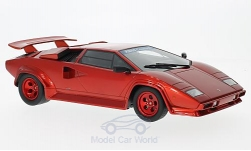 Modellauto - <strong>Lamborghini</strong> Countach Koenig Specials, metallic-rot, 1983<br /><br />GT Spirit, 1:18<br />Nr. 217690