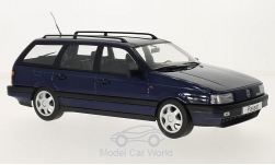 Modelcar - <strong>VW</strong> Passat (B3) Variant, dark blue, 1988<br /><br />KK-Scale, 1:18<br />No. 217831