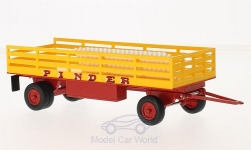 Modelcar - <strong>Anhänger</strong> trailer Nummer 17, Pinder, with material loaded, without showcase<br /><br />SpecialC.-87, 1:43<br />No. 217895