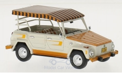 Modellauto - <strong>VW</strong> The Thing, weiss/orange, Acapulco Edition, 1974<br /><br />Matrix, 1:43<br />Nr. 217919
