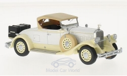 Modellauto - <strong>Pierce Arrow</strong> Model B Roadster, wit, 1930<br /><br />Esval Models, 1:43<br />Nr. 218052