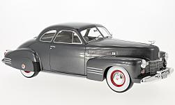 Modelcar - <strong>Cadillac</strong> series 62 Club Coupe, metallic-dunkelgrau, without showcase, 1941<br /><br />BoS-Models, 1:18<br />No. 218161