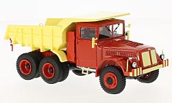 Modelcar - <strong>Tatra</strong> 147 DC-5, red/light yellow<br /><br />Premium ClassiXXs, 1:43<br />No. 218180