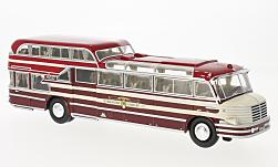 Modelcar - <strong>Krupp</strong> SW O 480, red/dark red, 1951<br /><br />Neo, 1:43<br />No. 218213