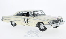 Modellauto - <strong>Ford</strong> Galaxie 500 XL, No.91, Tour de France Auto, H.Greder/M.Foulgoc, 1963<br /><br />Sun Star, 1:18<br />Nr. 218220