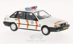 Modellauto - <strong>Volvo</strong> 440, weiss/orange, Posterijen (NL), 1990<br /><br />Triple 9 Collection, 1:43<br />Nr. 218349