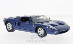 Modellauto - <strong>Ford</strong> GT Concept, blau<br /><br />Motormax, 1:24<br />Nr. 218422