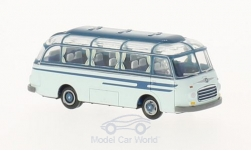 Modellauto - <strong>Setra</strong> S6, lichtblauw/donkerblauw<br /><br />Brekina, 1:87<br />Nr. 218555