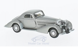 Modelcar - <strong>Horch</strong>  853 Spezial Coupe, metallic-grey, 1937<br /><br />BoS-Models, 1:87<br />No. 218691