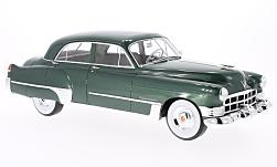 Modelcar - <strong>Cadillac</strong> series 62 Touring Sedan metallic-green, 1949<br /><br />CMF, 1:18<br />No. 219162