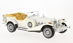 Modellauto - <strong>Excalibur </strong> Series III Phaeton, weiss, 1977<br /><br />CMF, 1:18<br />Nr. 219163