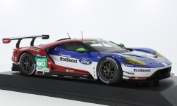 Modellauto - <strong>Ford</strong> GT, No.66, Chip Ganassi Racing UK, 24h Le Mans, O.Pla/S.Mücke/B.Johnson, 2016<br /><br />Minichamps, 1:18<br />Nr. 219522