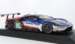 Modellauto - <strong>Ford</strong> GT, No.67, Chip Ganassi Racing UK, 24h Le Mans, M.Franchitti/A.Priaulx/H.Tincknell, 2016<br /><br />Minichamps, 1:18<br />Nr. 219523