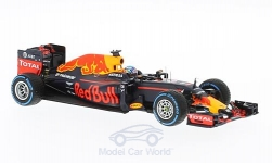 Modellauto - <strong>Red Bull</strong> TAG Heuer RB12, No.3, Red Bull Racing Formula One Team, Red Bull, Formel 1, GP Brasilien, D.Ricciardo, 2016<br /><br />Minichamps, 1:43<br />Nr. 219610