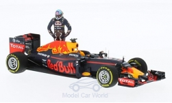Modellauto - <strong>Red Bull</strong> TAG Heuer RB12, No.3, Red Bull Racing Formula One Team, Formel 1, GP Österreich, mit Figur, D.Ricciardo, 2016<br /><br />Minichamps, 1:43<br />Nr. 219612