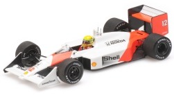 Modelcar - <strong>McLaren</strong> Honda MP4/4, No.12, formula 1, GP Hungary, with Decals, A.Senna, 1988<br /><br />Minichamps, 1:43<br />No. 219664