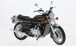 Modelcar - <strong>Honda</strong> Goldwing GL 1000 K3, metallic-dark red, 1978<br /><br />Minichamps, 1:12<br />No. 219687
