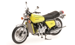 Modelcar - <strong>Honda</strong> Goldwing GL 1000 KO, yellow, 1975<br /><br />Minichamps, 1:12<br />No. 219688