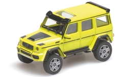 Modelcar - <strong>Mercedes</strong> Brabus 4x4, yellow, Basis G 500 4x4, 2016<br /><br />Minichamps, 1:87<br />No. 219701